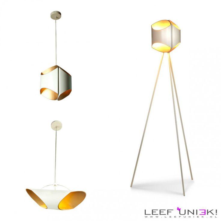 Leef Uniek   Nieuws   Verlichting *Deze moderne lampen zijn futuristisch met een tikje retro!*