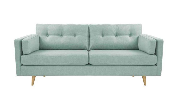 Vega sohva napeilla Vega sofa with buttons 2,5-istuttava ja 3-istuttava #kruunukaluste #ainain #homedeco #scandinavianhomes #interior #inspiration #interiordesign #homeinspiration #sisustus #sisustusinspiraatio #sisustusidea #modern  #retro #livingroom #sofa #sohva