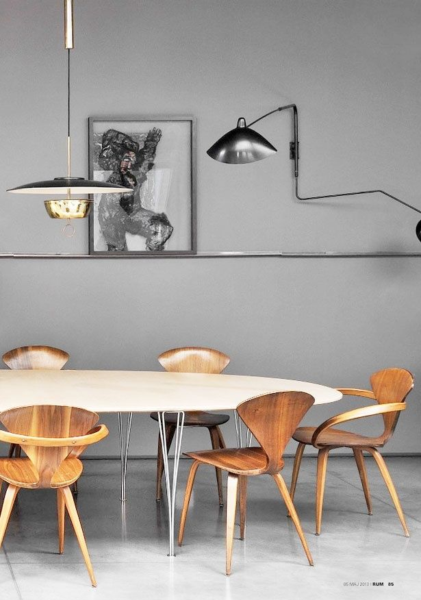 Black and white modern dining nostalgic inspiration
