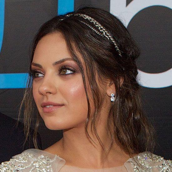Mila Kunis - Bridal Make up look
