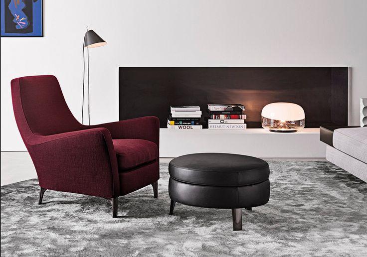 Minotti Sessel Runder Tisch Mit Stühlen