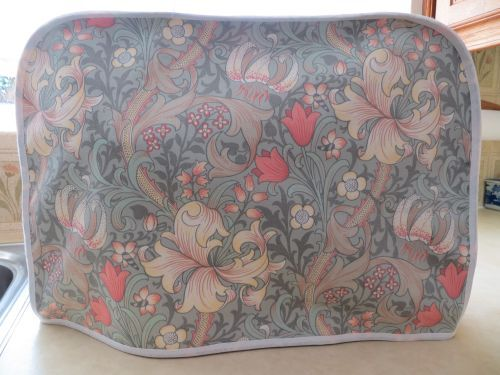 Cover for Kenwood Chef Wm. Morris Golden Lily Turquoise £24.99