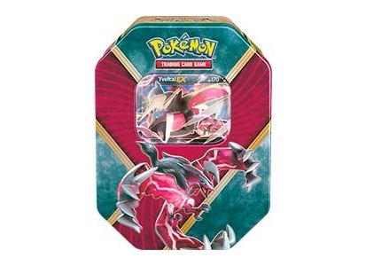 Pokemon Tin Box Yveltal-EX Shiny Calos Power