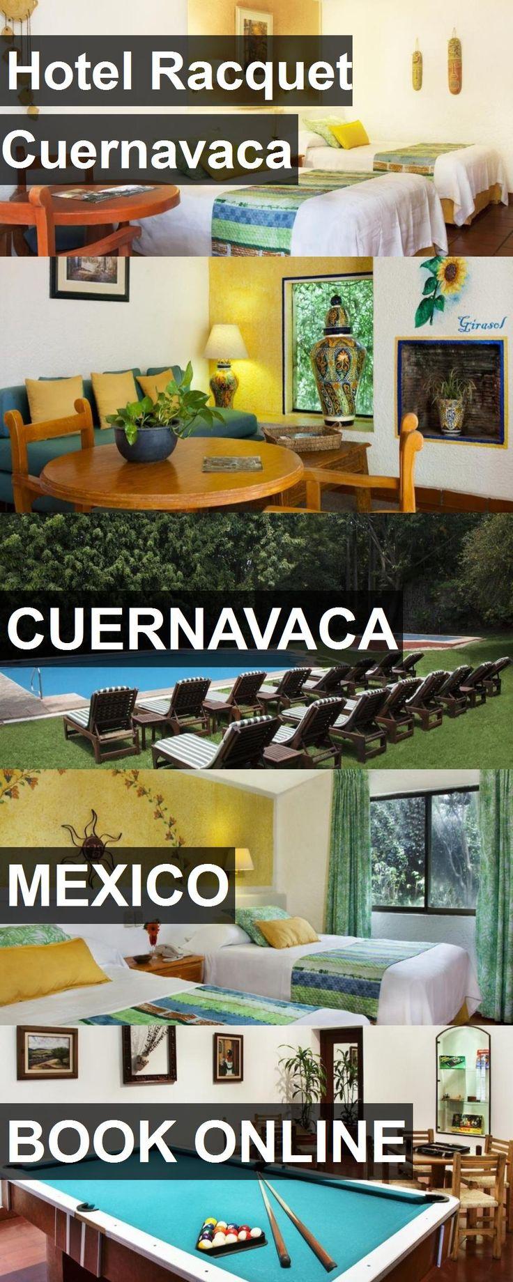 Hotel Racquet Cuernavaca in Cuernavaca, Mexico. For more information, photos, reviews and best prices please follow the link. #Mexico #Cuernavaca #travel #vacation #hotel