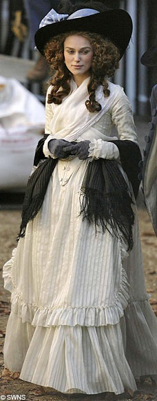 Keira Knightley costume in 'The Duchess', 2008