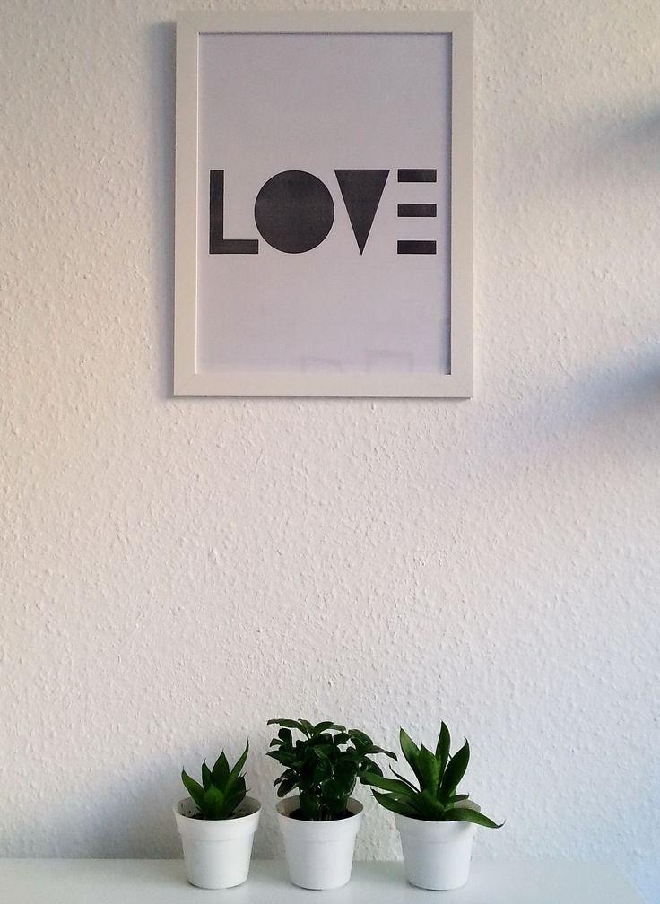 DIY print - LOVE