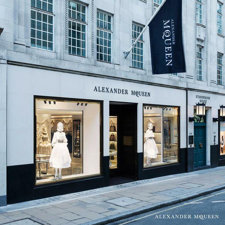 Alexander McQueen Boutique On Old Bond Street London Alexander McQueen Shop Front Design
