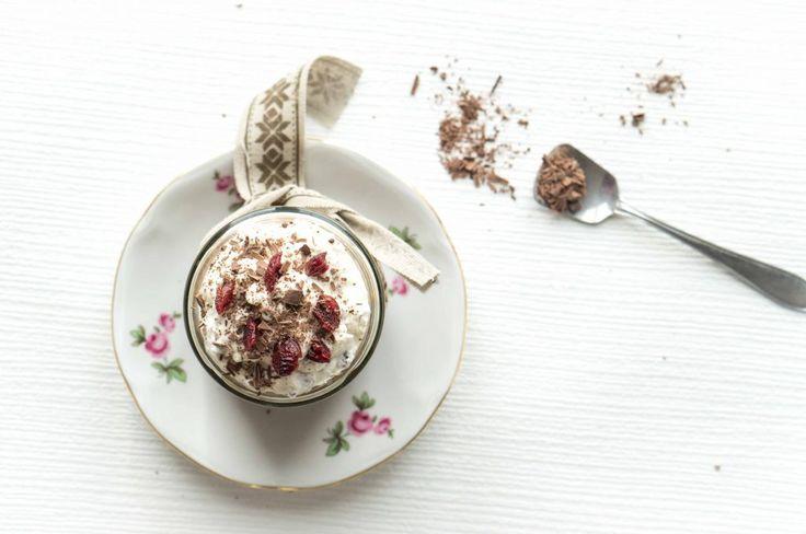 Chocolate and cranberries Tiramisù | Marzia Fine Dining