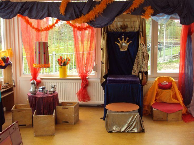 Themahoek koningsdag 2015, Prins Clausschool.