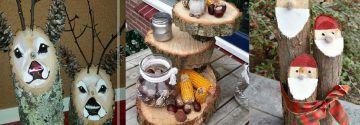 Noch irgendwo einen Baumstamm oder eine -scheibe herumliegen? 10 supertolle DIY-Ideen aus Holz!