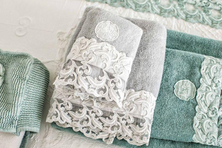 #danieladallavalle #artepura #fw15 #collection #white #green #bed #towel