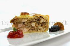 Rustica di tacchino, con chutney piccante di peperone rosso e mango | Tra pignatte e sgommarelli
