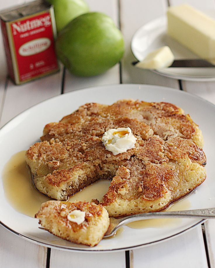 Apple Crumble Pancakes The Hopeless Housewife