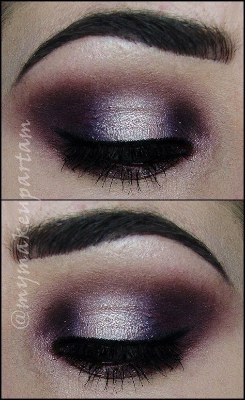 @mymakeupartam #makijaz #makeup #makeupeye #eye #fiolet #party #glam #wieczor #randka