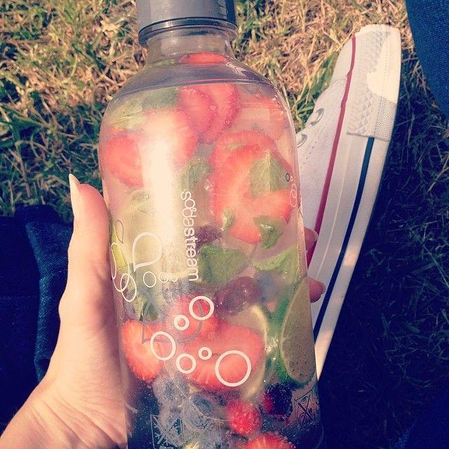 SodaStream fruit salad!
