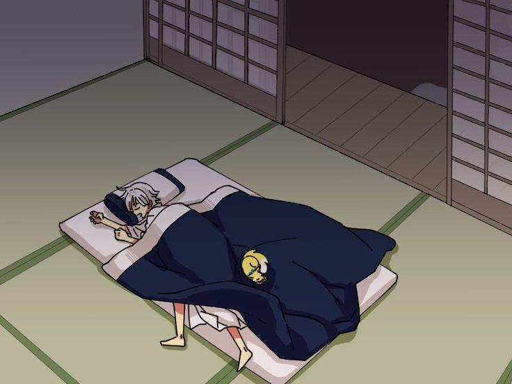 【花丸8話】寝ぼけて迷い込むお供の狐可愛すぎ… ※ちょいバレご注意