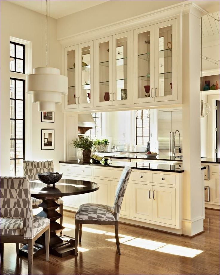 45 Perfect Parion Cabinet Between The Kitchen And Dining Room Ideas