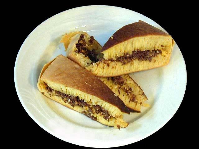 INDONESIAN FOOD - Terang Bulan (Sweet Thick Crepes)