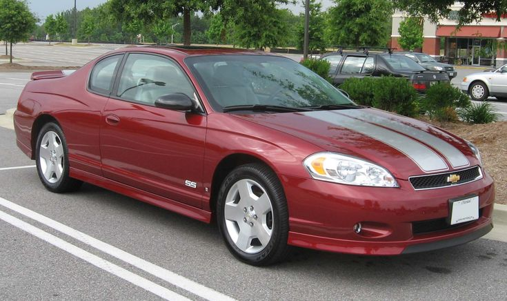 2007 Chevrolet Monte Carlo SS. oddly enough the last Monte Carlo SS while being FWD was one of the fastest with a 303 hp LS4 V8