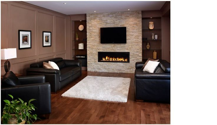 white rug dark furniture with wood floor