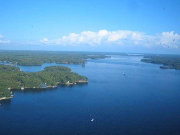 Lake Gaston, NC.  The best place for some wakeboarding and waterskiing.