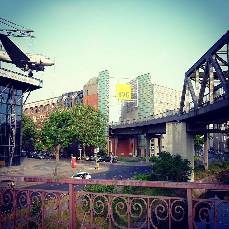 Blick auf #technikmuseumberlin und #bvg #berlin made with #fuji