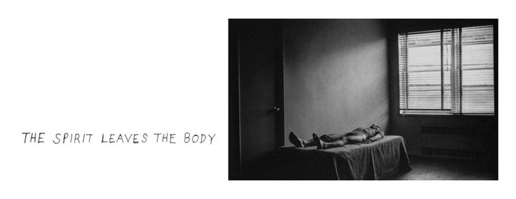 Duane Michals, The Spirit Leaves the Body (Sequence), 1968