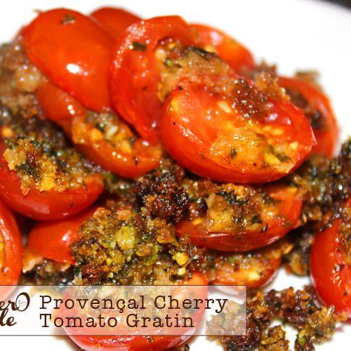 Provençal Cherry Tomato Gratin | Brunch | Pinterest