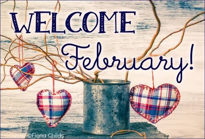 Welcome February! #february welcome february hearts branches