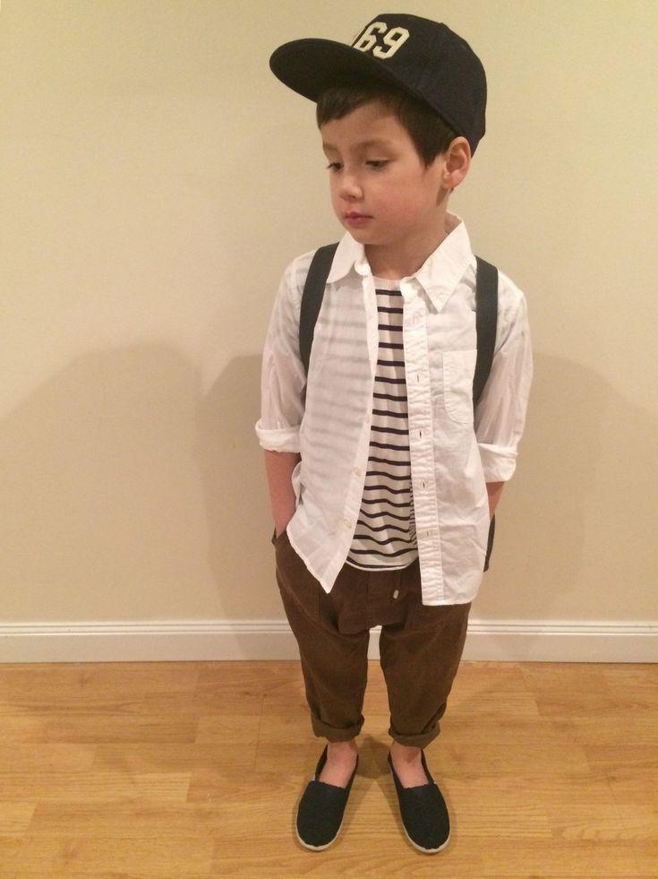 tokyonh|ZARA KIDSのTシャツ・カットソーを使ったコーディネート