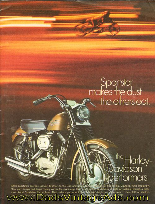 Vintage Honda Motorcycle Parts >> 1970 Harley-Davidson Sportster 900cc vintage motorcycle ...
