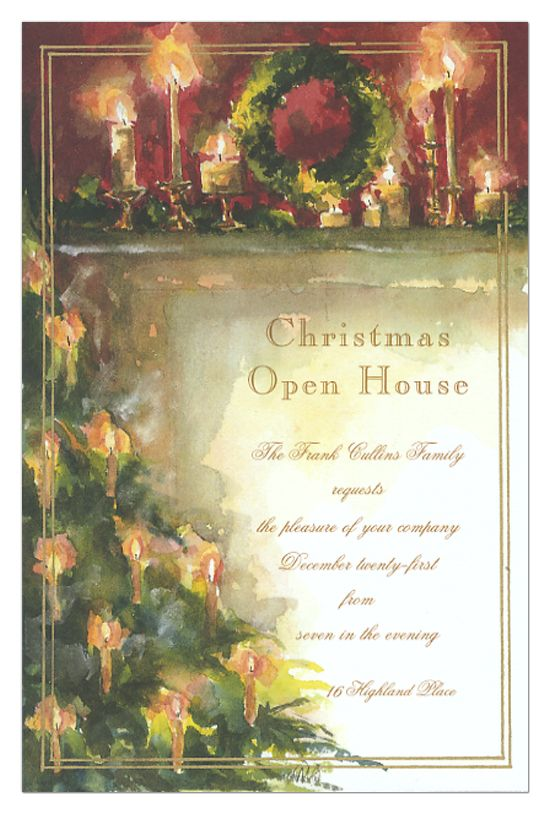 135 best Christmas Party Invitations images – Candle Party Invitations
