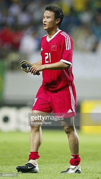 FUSSBALL WM 2002 in JAPAN und KOREA Seogwipo 080602/Match 26 GRUPPE C/BRASILIEN CHINA 40 Yunlong XU/CHN