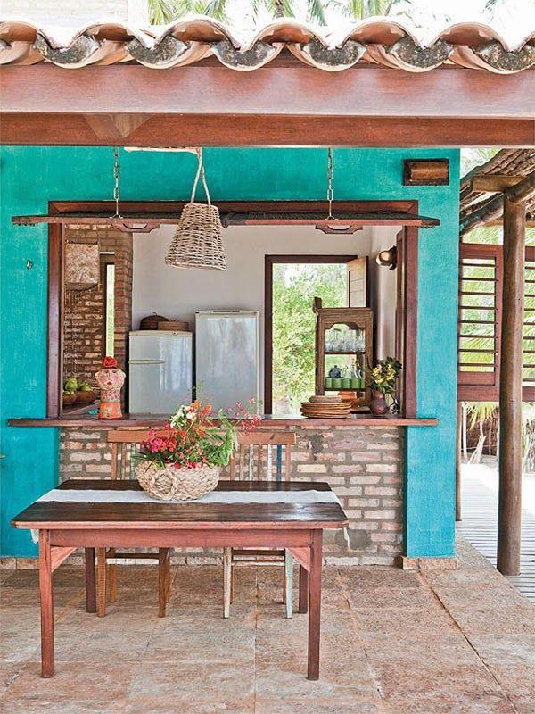 Colorida y natural casa en Brasil | Decoración