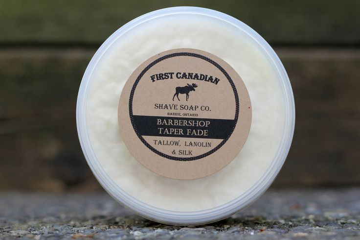 First Canadian Shave Soap Co. Barbershop Taper Fade
