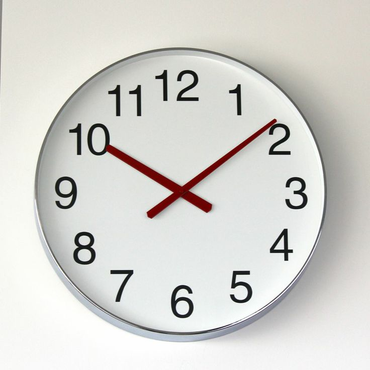 Difilia by Design - BIG TIME WALL CLOCK