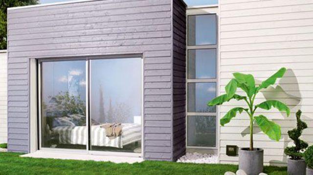 Poser un bardage l 39 exemple d 39 une maison en 6 photos for Bardage de facade maison
