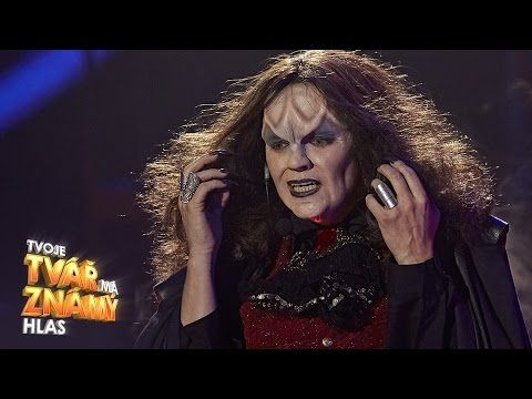 "Marta Jandová jako Meat Loaf - ""I'd Do Anything for Love"" 