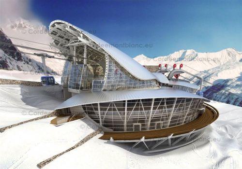 Il 2015 si avvicina per la funivia del Monte Bianco: da oggi chiude la terrazza di Punta Helbronner