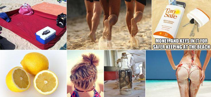 Trucchi da spiaggia: rimedi naturali e idee diy per trascorrere una perfetta giornata di mare
