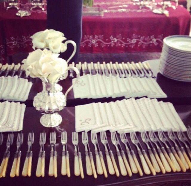 Organização para um jantar informal!