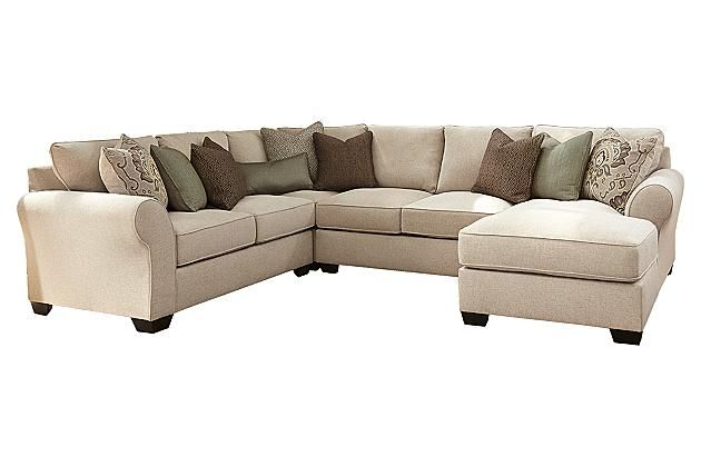 Ashley Wilcot 4-Piece Sofa Sectional. I love how big this U shape is!
