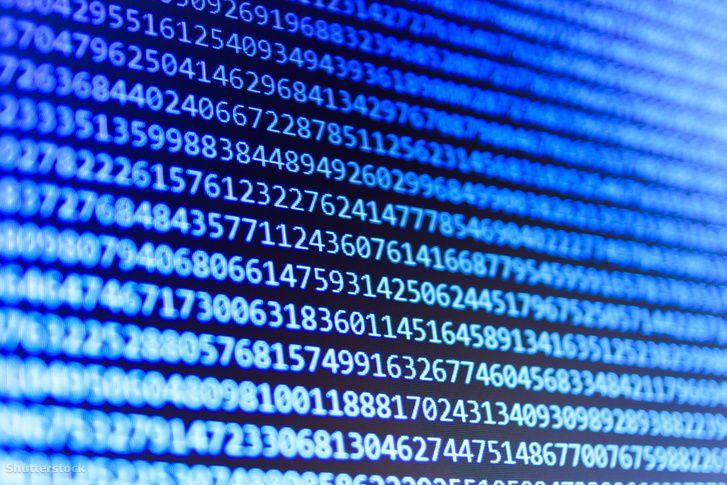 Egy Missouriban lévő számítógép felfedezte az eddigi legnagyobb prímszámot. Az új szám 2^74207281–1 és nagyjából 22 millió számjegyből áll.shutterstock 256907596