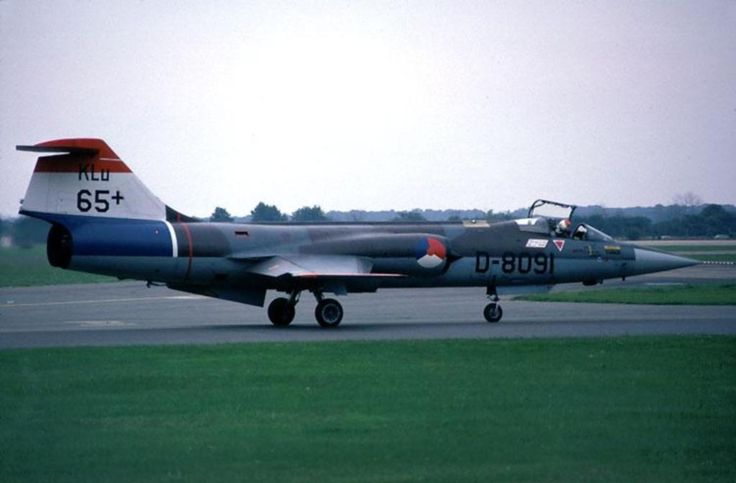 F-104 Starfighter Royal Netherlands Airforce