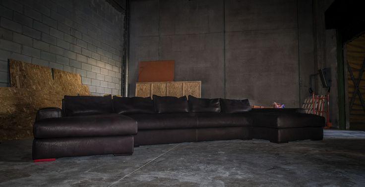 teto sofa'. by romeo orsi made in italy