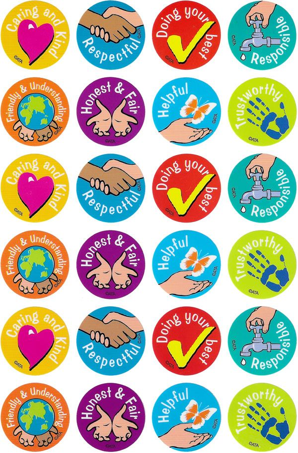 Character Values Merit Stickers.  96 brightly coloured values education stickers to reward or decorate.  - See more at: http://www.teachersuperstore.com.au/product/character-education/character-values-merit-stickers/#sthash.5B9eXPNS.dpuf