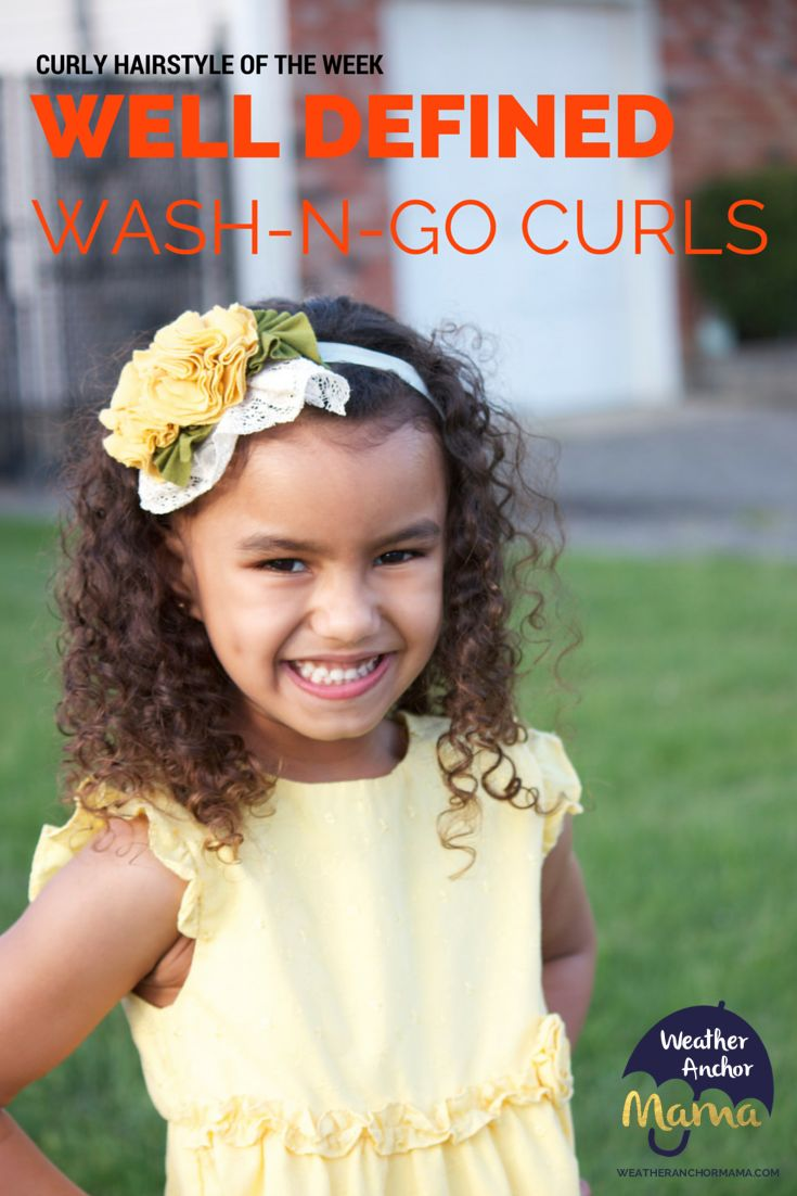 well define wash and go curls mixed hair care