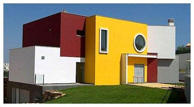 45 Fotos Y Colores Para Pintar Casa Por Fuera Mil Ideas De Decoración Colores Para Pintar Casas Pinturas De Casas Pintar Fachadas De Casas
