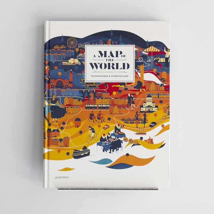 A Map of the World by Gestalten – at VON & ZU BUCH store Nürnberg Germany – www.vonundzubuch.com / www.facebook.com/vonundzubuch
