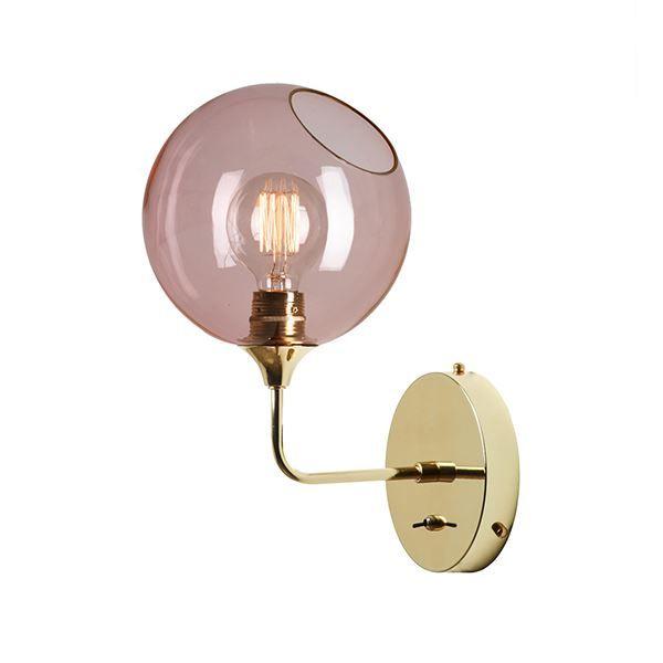 Design by Us Ballroom Væglampe Rose Lille.  2 til soveværelse